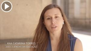 Ana Catarina Torres é antiga estudante da Universidade do Porto