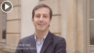 Julio Martins é antigo estudante da Universidade do Porto