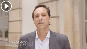 Pedro Graça é antigo estudante da Universidade do Porto