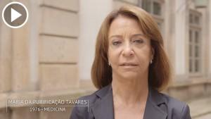 Maria da Purificação Tavares é antiga estudante da Universidade do Porto