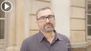 Nuno Grande é antigo estudante da Universidade do Porto