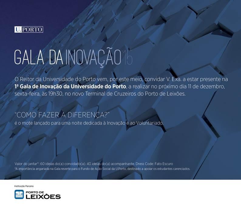 ALUMNI homenageados na 1ª Gala de Inovação da U.Porto