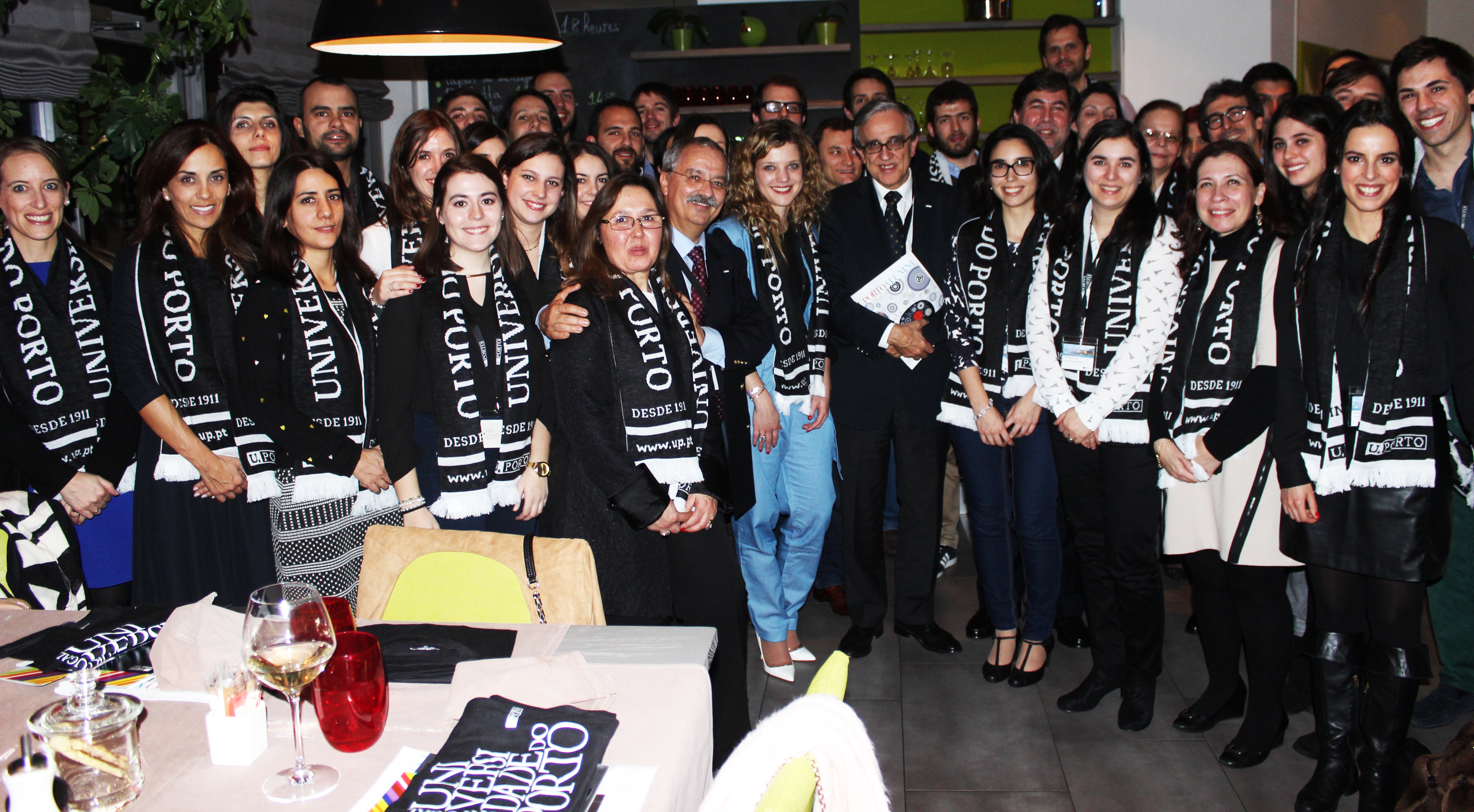 primeiro encontro alumni uporto suiça universidade do porto