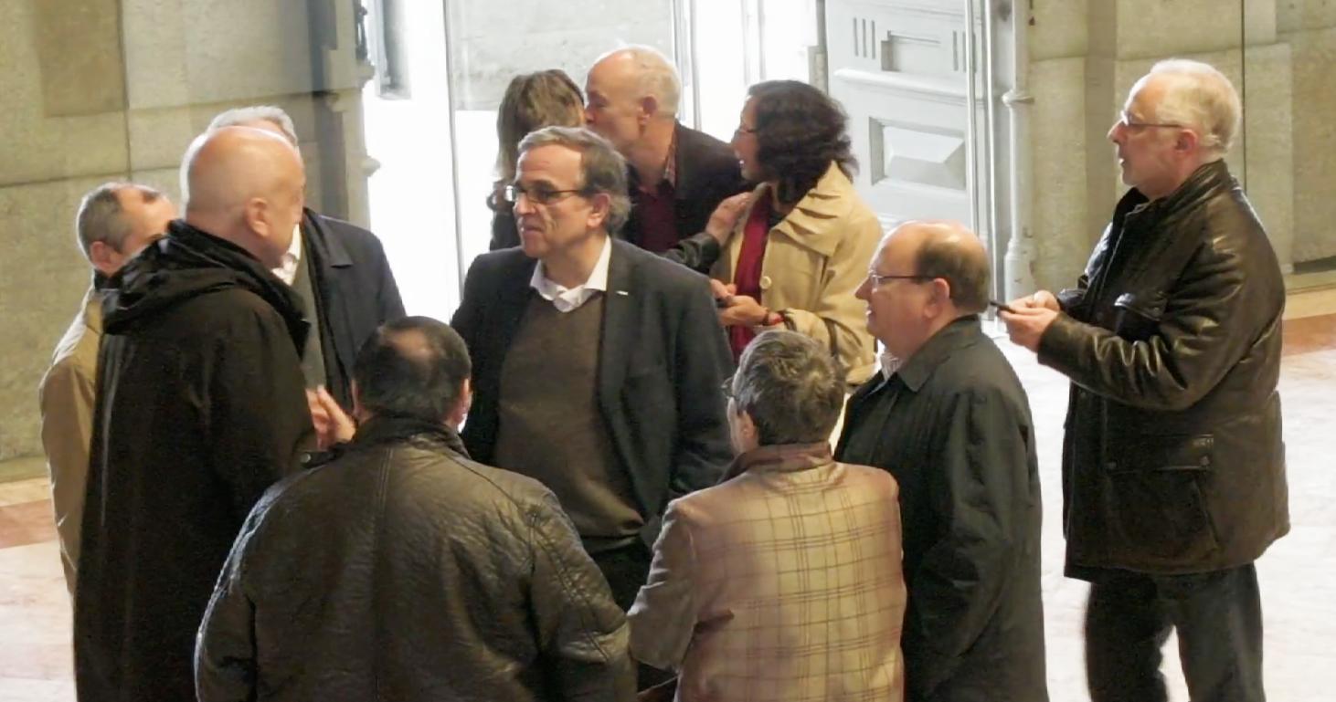 Alumni de Engenharia Química de 1973 juntam-se na Reitoria da U.Porto