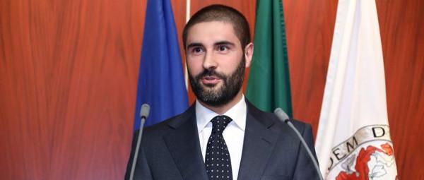 Rui Leite, aluno da Faculdade de Economia da Universidade do Porto e vencedor do Prémio António Simões Lopes 2019.